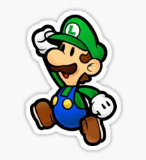 Super Paper Luigi Sticker