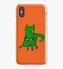 One Friendly Dragon iPhone Case/Skin
