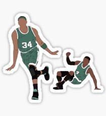 Paul Pierce And Nate Robinson  Sticker