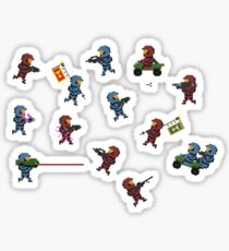 Halo 3 8-Bit Sticker