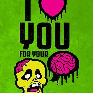 (valentine) brainz by travbos