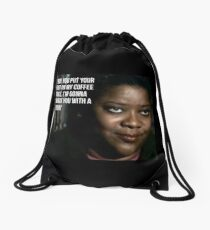 missouri moseley Drawstring Bag