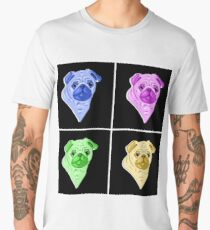 Pugly (Pop Art) Men's Premium T-Shirt