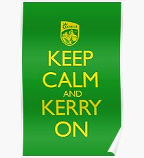 Keep Calm & Kerry On (clean) Poster