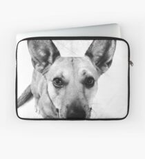 Carolina Gray Pup Laptop Sleeve