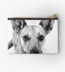 Carolina Gray Pup Studio Pouch