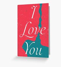 Lovers - I Love You Greeting Card