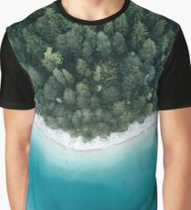 Trees and Water - Landscape Photography Graphic T-Shirt