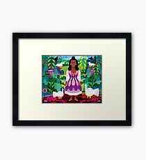 Malinche (Mother of Modern Mexico) Framed Print
