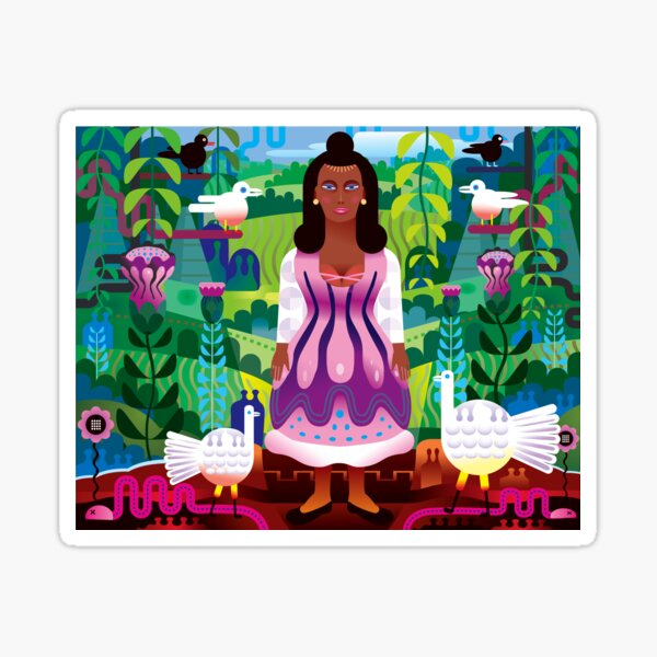 Malinche (Mother of Modern Mexico) Sticker