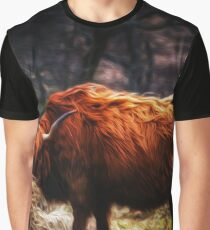 Hairy Coo Graphic T-Shirt