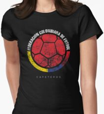 Colombian Soccer Women's Fitted T-Shirt