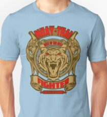 Muay Thai Fighter Shield - Thailand Martial Art T-Shirt
