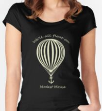 Modest Mouse Float on With Balloon Women's Fitted Scoop T-Shirt