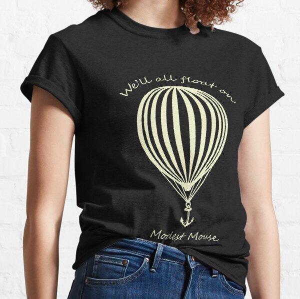 Modesto mouse flotante con globo Camiseta clásica