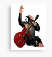 Rock Monkey Canvas Print