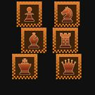 Chess - Brown borders columns by Rocky64