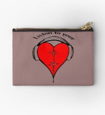Listen to your heart! Studio Pouch