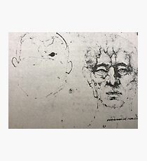 Leonardo da Vinci Head 2 Photographic Print