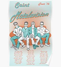 Saint Motel Fan Poster Design Poster