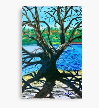 'Old Tree At Bass Lake' Canvas Print