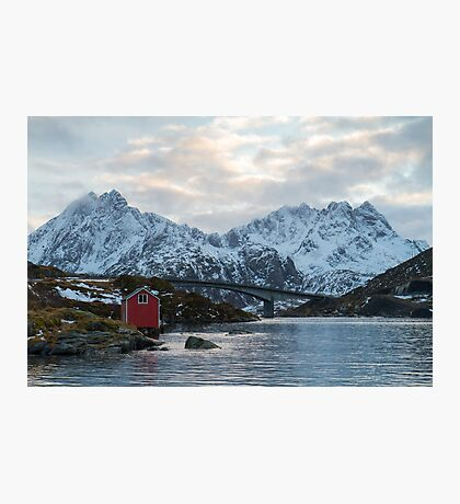 Lofoten winter Photographic Print