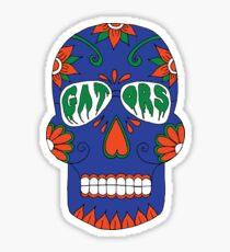 Gator Skull Stickers Redbubble