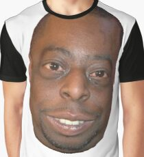 Beetlejuice Head Lester Green Graphic T-Shirt