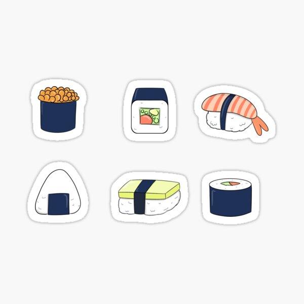 sushi stickers Sticker