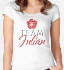 Team Julian Women's Fitted Scoop T-Shirt