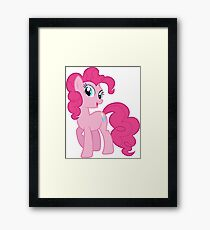 Pinkie Pie Sweet Framed Print