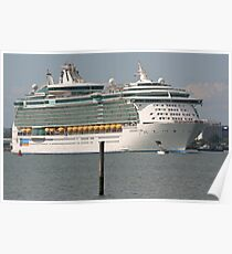 Independence of the Seas Poster