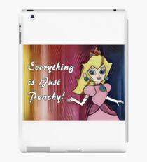 "Princess Peach ""Everything is Peachy"" iPad Case/Skin"
