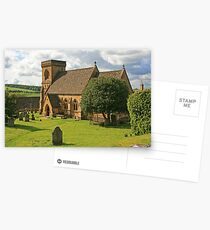 St Barnabas, Snowshill Postcards