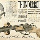Steampunk:  Van Helsing'sThunderbolt 1875 by Jon Burke