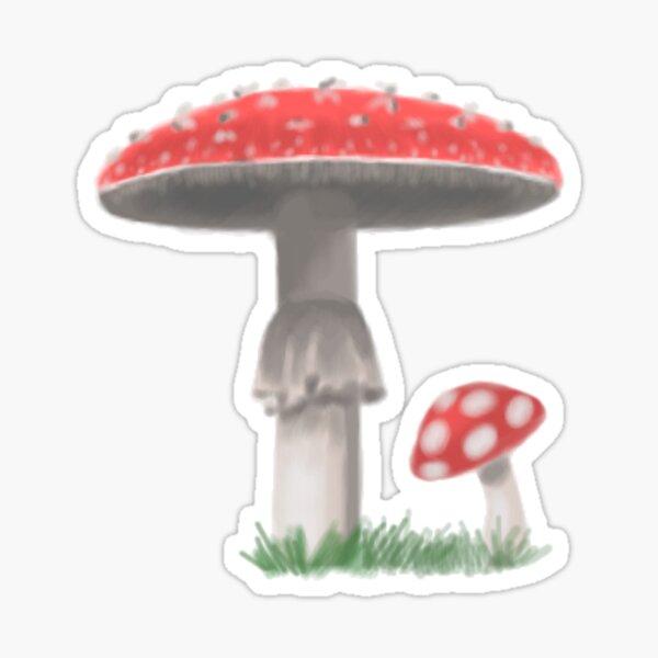 Amanita Not Eat That Sticker