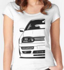 Golf Mk3 GTI Best Shirt Design Women's Fitted Scoop T-Shirt