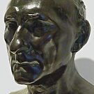 Study of Sculpture By Auguste Rodin, Bronze,  Sculptor's Patina by Scott Johnson