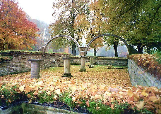 Abbey gardens by HELUA