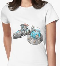Rick and Morty/Back to the future T-Shirt