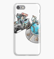 Rick and Morty/Back to the future iPhone Case/Skin