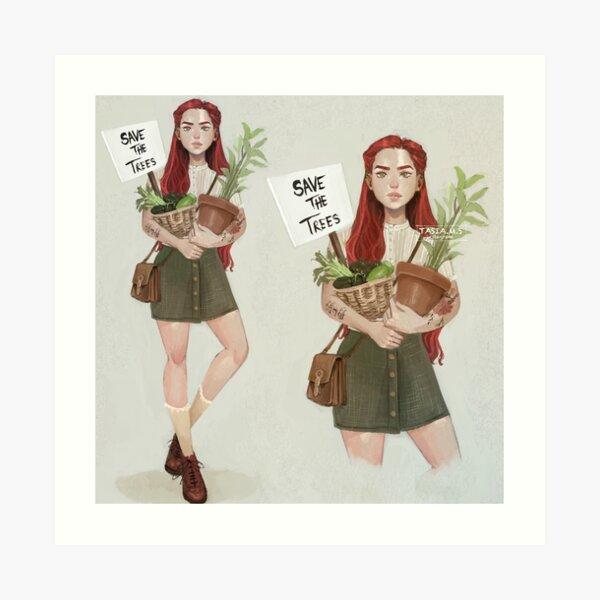 Plant mom Poison Ivy Art Print