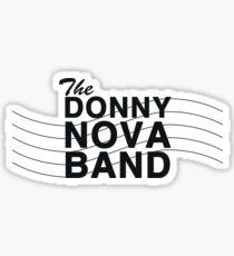 Bandstand - The Donny Nova Band Sticker