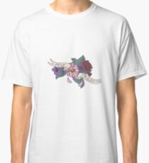 """Move, I'm Gay"" floral banner Classic T-Shirt"