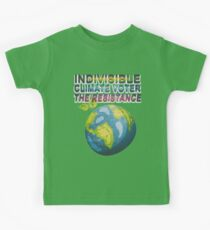Indivisible Climate Voter The Resistance Protest Kids Clothes