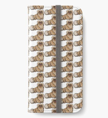 Pekingese iPhone Wallet