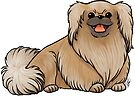 Pekingese by Jennifer Stolzer