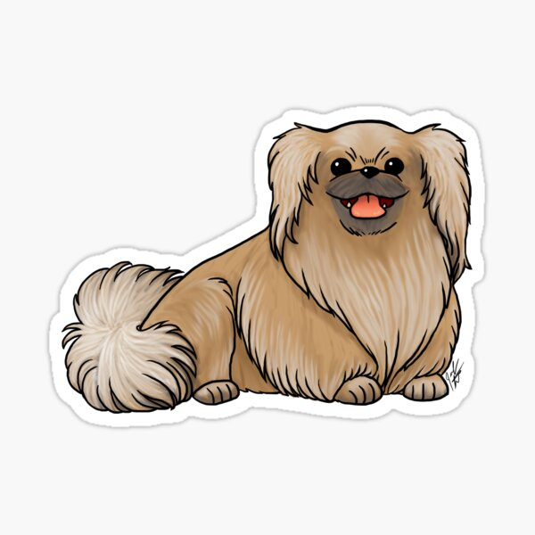 Pekingese Sticker