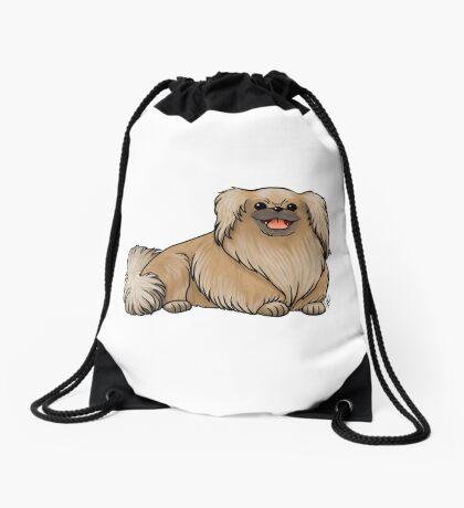 Pekingese Drawstring Bag