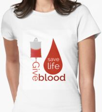 World Blood Donor Day Women's Fitted T-Shirt